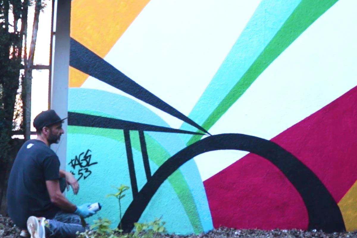 graffiti la publicidad creativa